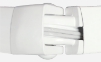 zoom sur un coude d'un bras de store extérieur banne iseo avec une technologie double cable