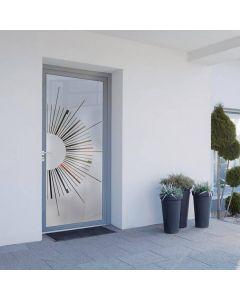 PORTE VITRÉE CLARÉA, La porte vitrée Claréa vous permet de profiter de la lumière tout en restant en sécurité. En effet ce vitrage offre à votre porte vitrée une résistance aux tentatives d'effraction aussi performante qu'une porte pleine !   Disponible